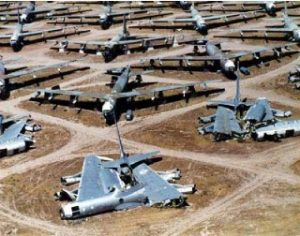 Aircraft Boneyard Asset Management