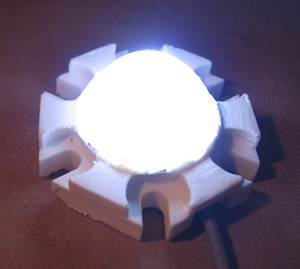 Hexagonal White LED module