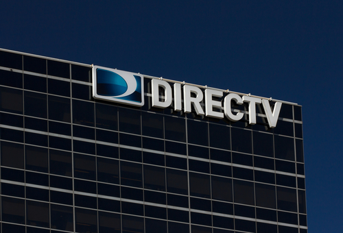EL SEGUNDO, CA/USA - MARCH 7, 2015: DirecTV corporate headquarters building. DirecTV is an American direct broadcast satellite service provider and broadcaster.