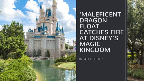 'Maleficent' Dragon Float Catches Fire at Disney's Magic Kingdom