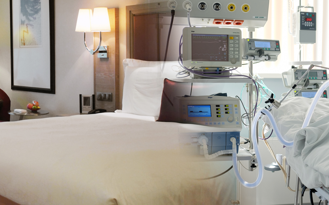 Converting Hotel Rooms into Hospital Rooms Amid Covid-19 Outbreak.