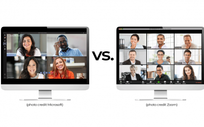 ZOOM vs. Microsoft Teams Live