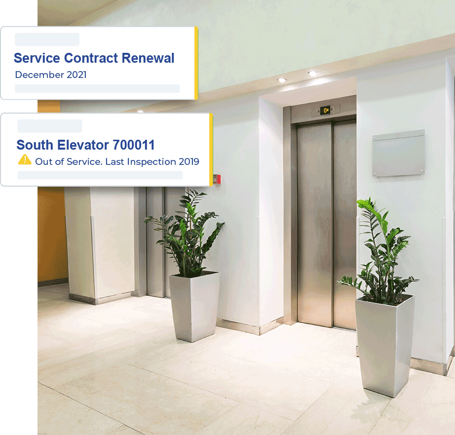 elevators in hotel service history documents
