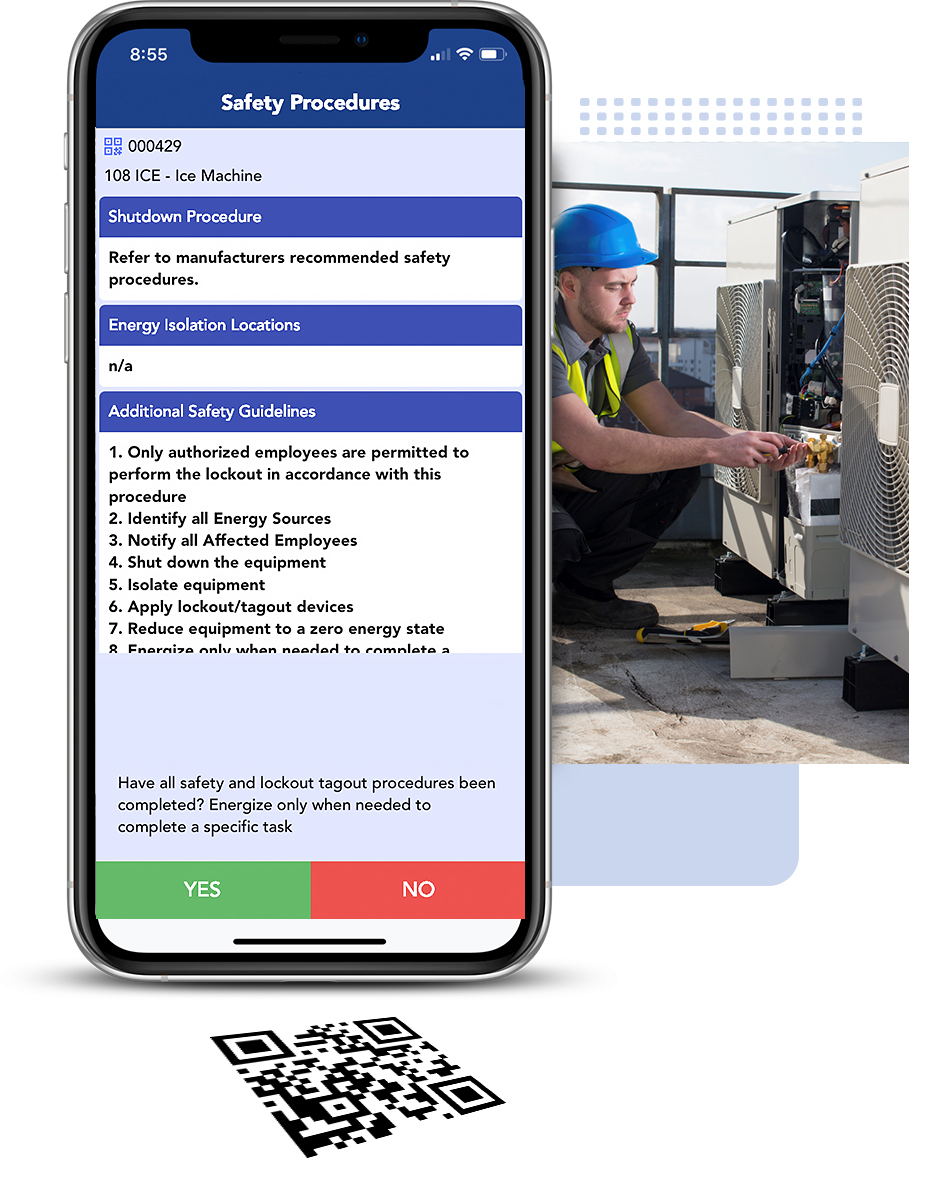 Transcendent Work Order Maintenance Mobile App