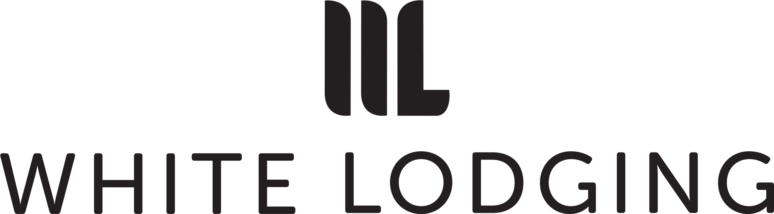 White Lodging Hotel Logo